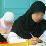 Bac-Kairouan : 17 candidates voilées surprises en flagrant délit de fraude