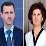 وفاة والدة بشار الأسد