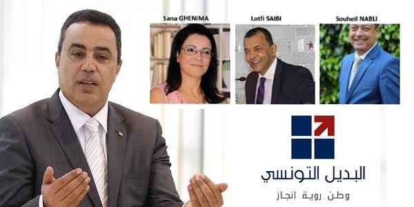 3 fondateurs du parti  Al Badil Ettounissi quittent le navire et ils abandonnent Jomaa
