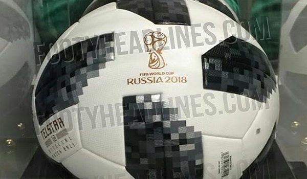 Document fuité - le ballon officiel de la Coupe du monde 2018 dévoilé