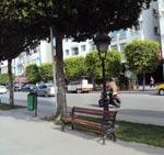Bancs publics de retour à l'avenue Habib Bourguiba