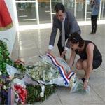 En photos : la secrétaire d'État chargée du Développement et de la Francophonie Annick Girardin effectue une visite au musée du Bardo