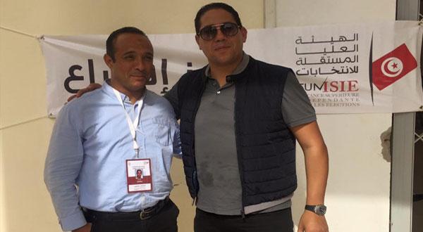 محمود البارودي :نسبة التصويت بلغت 22٪ في مركز الاقتراع بنابل