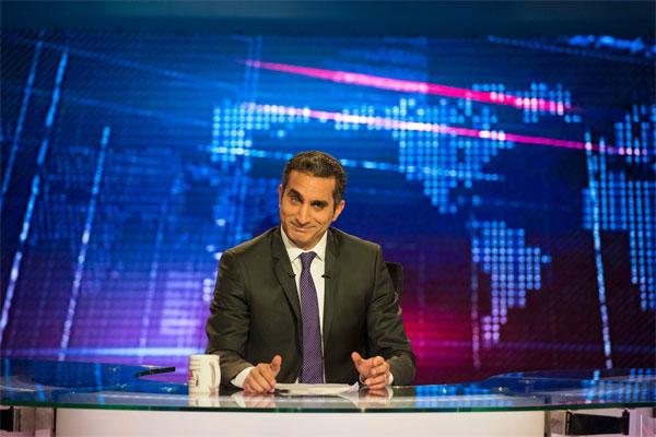 باسم يوسف لمؤيدي السيسي: بشار مثلكم الأعلى!