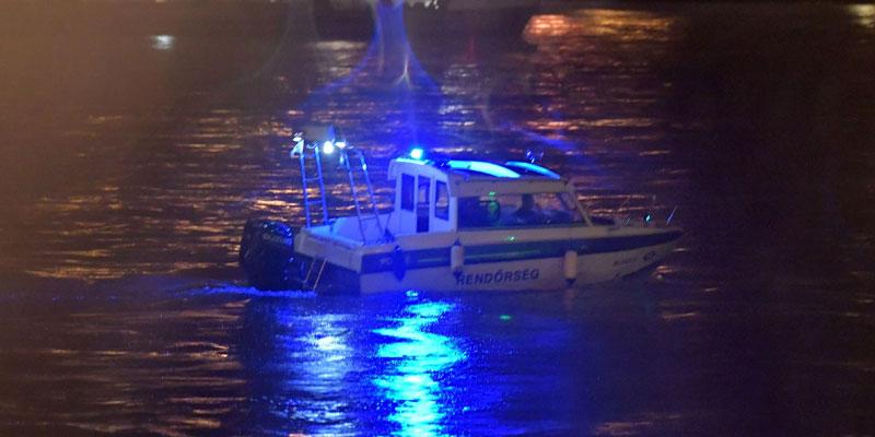 Un bateau de touristes coule à Budapest dans le Danube, 7 morts, 21 disparus