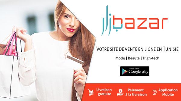 Acheter en ligne en Tunisie sur BAZAR.TN