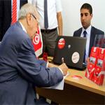 En Vidéo : Béji Caid Essebsi dépose sa candidature et s'exprime