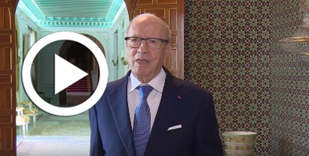 En vidéo : Béji Caïd Essebsi commente les élections du Conseil supérieur de la magistrature