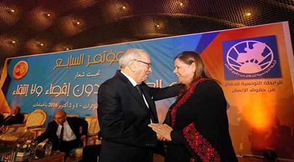 افتتاح المؤتمر السابع للرابطة التونسية للدفاع عن حقوق الإنسان