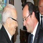 Photo du jour: Rencontre Hollande-BCE et leaders de partis politiques, loin de la Troïka