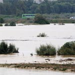 مجاز الباب تتجاوز خطر الفيضانات بانخفاض منسوب مياه مجردة