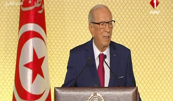 رئيس الجمهورية: '' الجيش سيتكفل بحماية مناطق إنتاج الثروات من فسفاط وبترول وغاز''