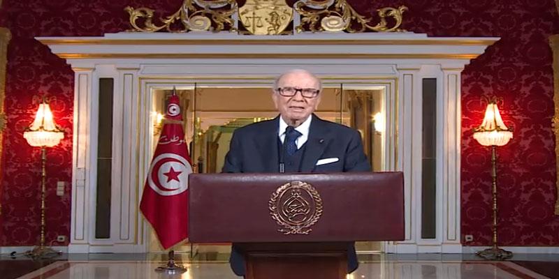 بالفيديو: رئيس الجمهورية يهنئ الشعب التونسي بحلول شهر رمضان