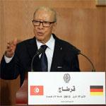 Le président allemand à Essebsi : l'Union européenne apportera l'aide nécessaire à la Tunisie