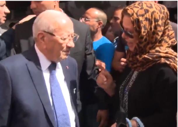 فيديو: مواطنة تطلب من رئيس الجمهورية القصاص للطفل ياسين