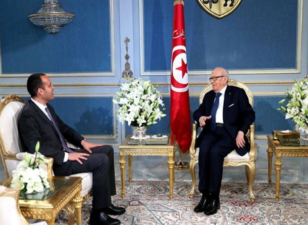 رئيس الجمهورية يستقبل رئيس حزب آفاق تونس