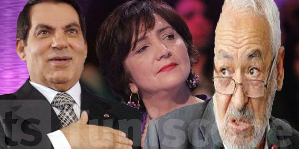 سامية عبو : النهضة ماشية على خطى بن علي، بل أقذر
