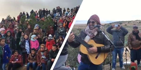 En vidéo : Bendir Man, Yasser Jradi et Hamzaoui Med Amine dans une descente culturelle au Mont Semmama