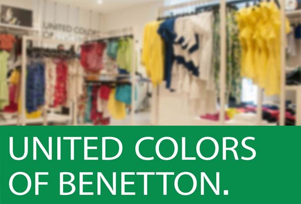 Les magasins Benetton proposent 50% de réduction à partir d'aujourd'hui…