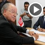 En vidéo : Mustapha Ben Jaafar dépose sa candidature à la présidentielle