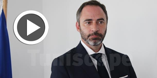 En vidéos –Patrice Bergamini : L'Union Européenne renforce son soutien et double son aide financière à la Tunisie