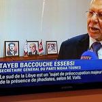 Photo du jour : Taïeb Baccouche Essebsi sur BFM Tv