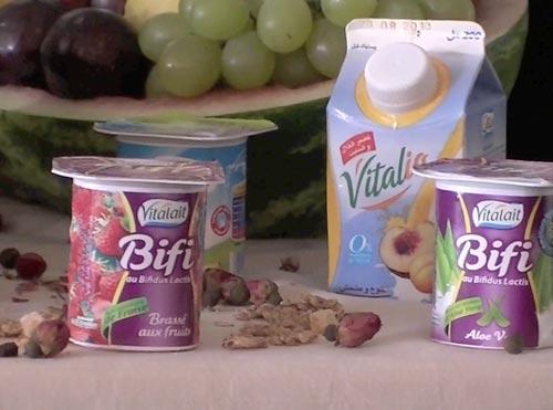 Bifi de Vitalait, découverte et dégustation d'un yaourt tout bénéf !