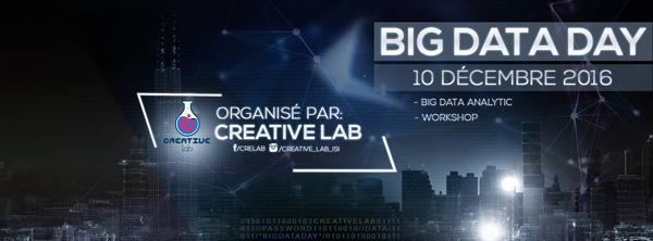 BIG DATA DAY une journée organisée par le Club Creative Lab