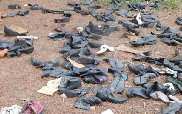 En photos : La forêt de Bizerte croule sous les chaussures