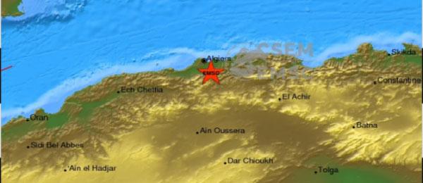 Algérie: un séisme de magnitude 4.7 enregistré à Blida