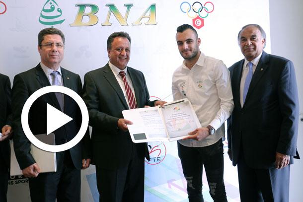 En vidéo : Habib Ben Hadj Kouider  parle de l'engagement de la BNA dans le sport