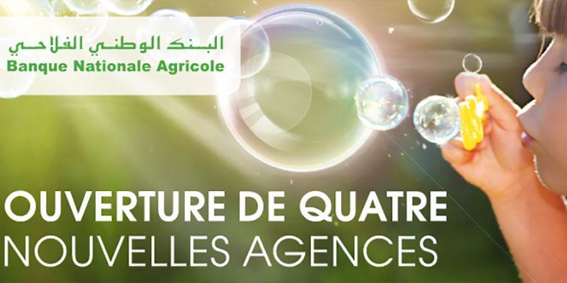 Ouverture de 4 nouvelles agences de la BNA