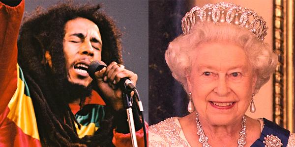 Quel est le point commun entre la Reine Elizabeth II et Bob Marley ?..