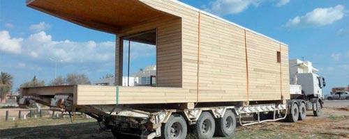 la zen house une maison de bois transportable made in tunisia tunisie conso marques tuniscope. Black Bedroom Furniture Sets. Home Design Ideas