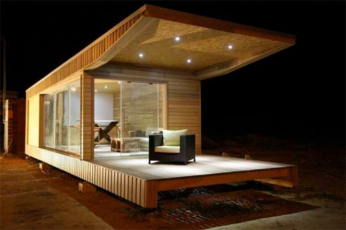 la zen house une maison de bois transportable made in tunisia. Black Bedroom Furniture Sets. Home Design Ideas