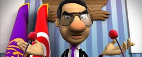 La parodie de Ben Ali sur Bolitik la nouvelle série 3D