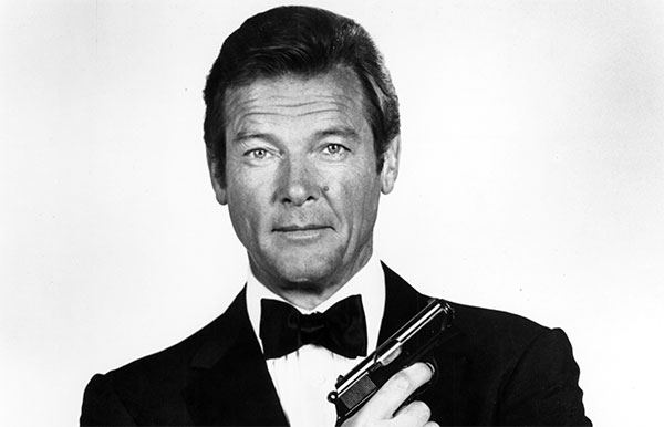 Mort de Roger Moore, inoubliable James Bond