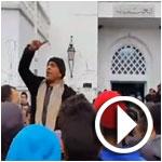 فيديو و صور..حالة احتقان ببوسالم و قرار بتنفيذ إضراب عام