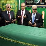 بالصور: قائد السبسي يزور مقام الولي الصالح أبو لبابة الأنصاري بقابس