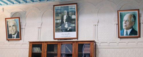 La CIN, vêtements et effets personnels de Habib Bourguiba Bourguiba-030811-1