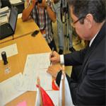 بالصور: محرز بوصيان يقدم ملف ترشحه رسميا للانتخابات الرئاسية