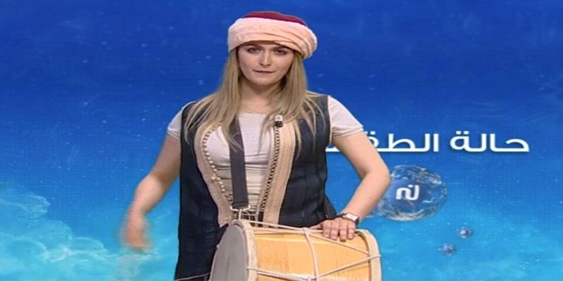 بالفيديو: بوطبيلة يقدم النشرة الجوية على قناة نسمة