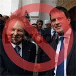 Boycott de la visite de Manuel Valls à Alger par plusieurs médias