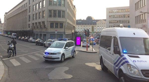 انفجار بمحطة القطار المركزية ببروكسل