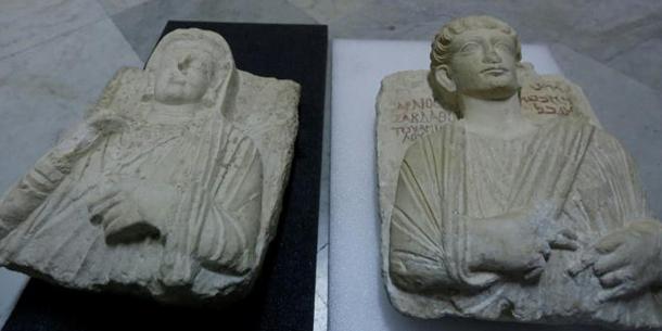 La Syrie récupère deux bustes antiques saccagés par Daech à Palmyre