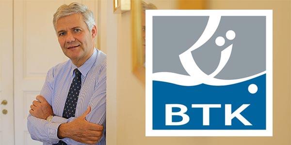 Bernard Frémont nommé directeur général de la BTK