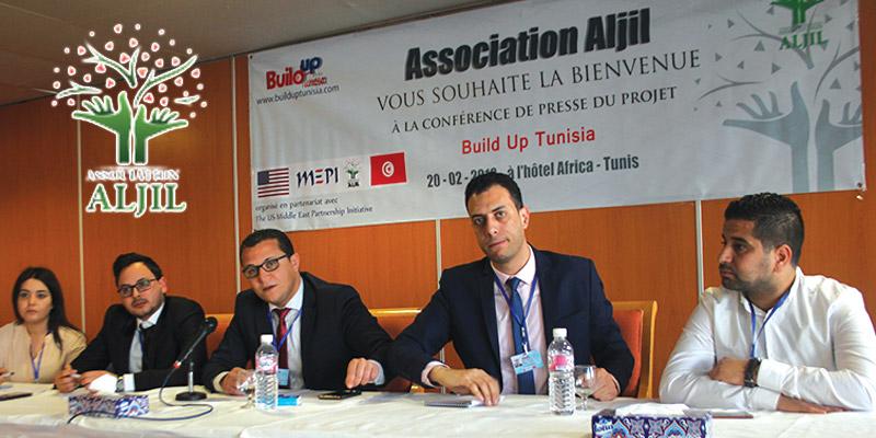 En vidéo : Tous les détails sur le projet ''Build Up Tunisia'', lancé par l'association ALJIL en partenariat avec le MEPI