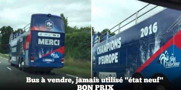 Le bus des champions est déjà prêt — EdF