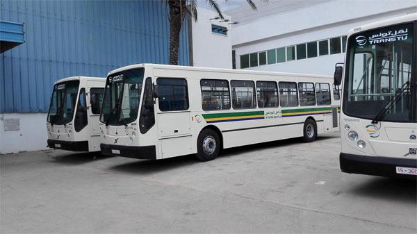 لتحسين الخدمات، شركة نقل تونس تغير لون حافلاتها