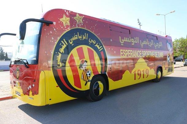 En photos : Tous les détails sur le nouveau bus de l'Espérance
